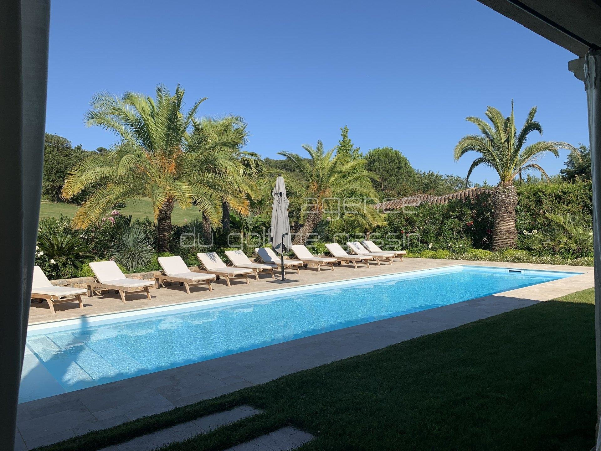 Saint Tropez Gassin  Villa AUGUSTA 3 bedrooms villa secured domain