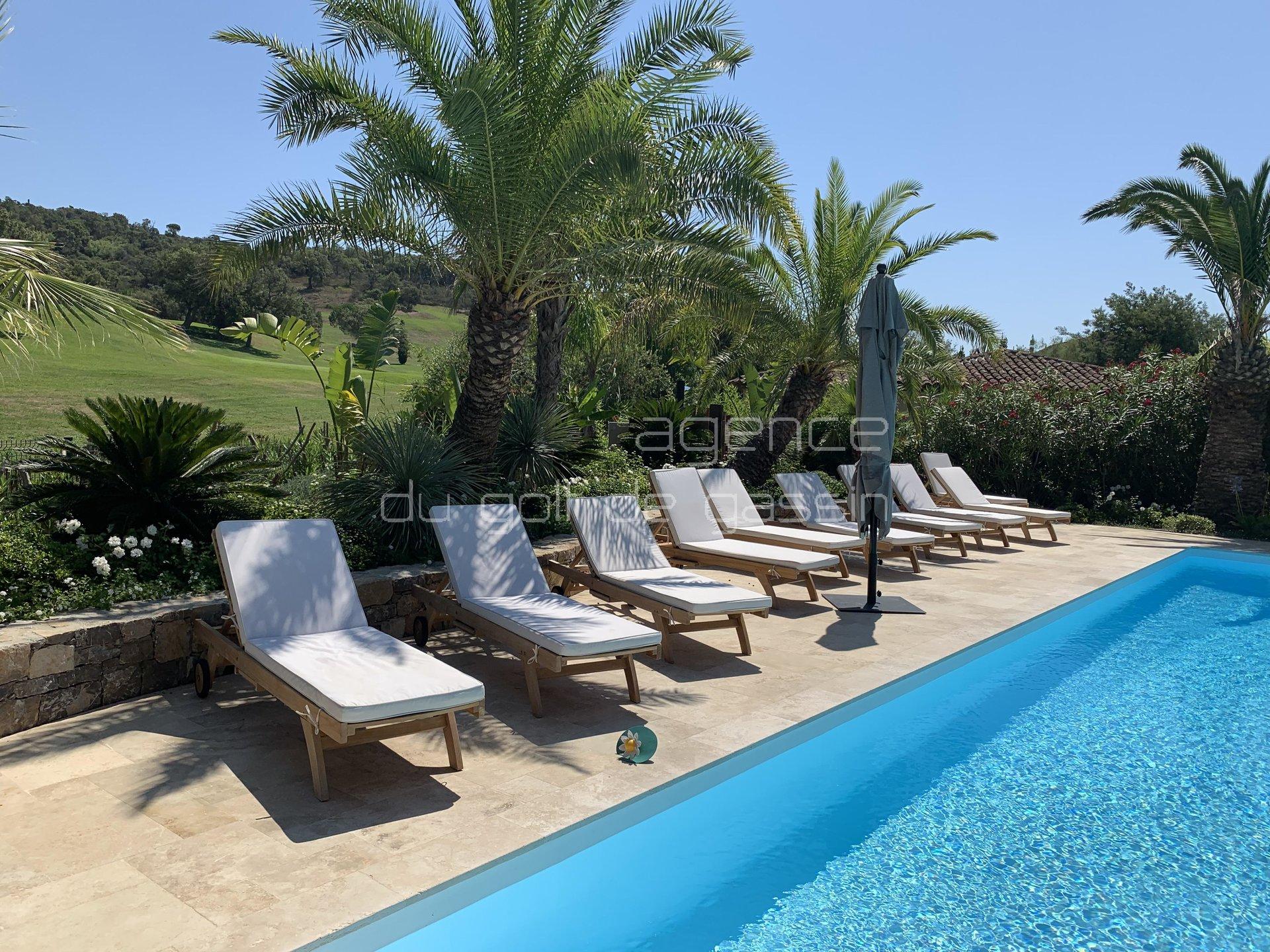 Saint Tropez -Gassin Villa AUGUSTA 3 chambres domaine sécurisé