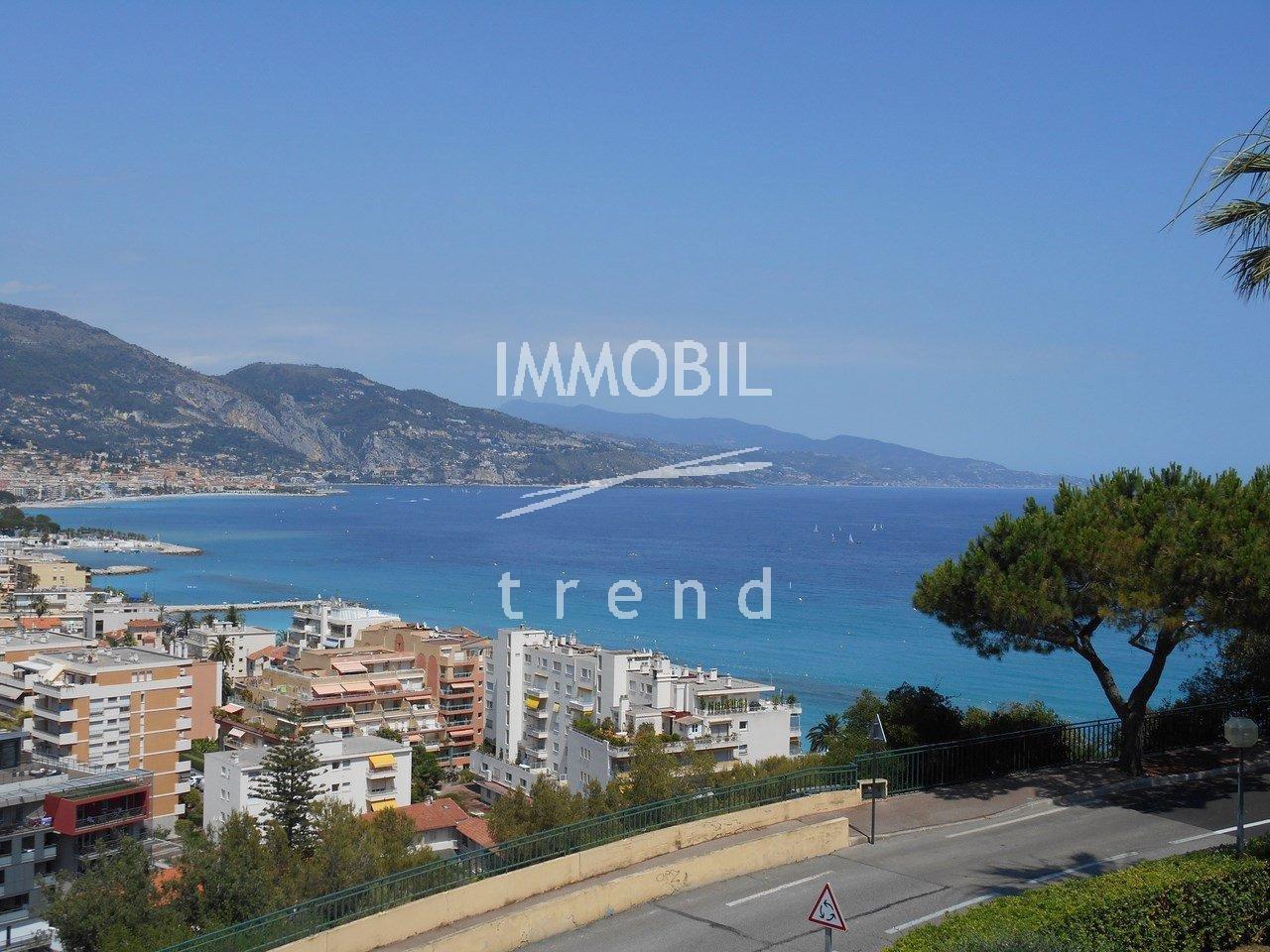 Roquebrune Cap Martin View Sea