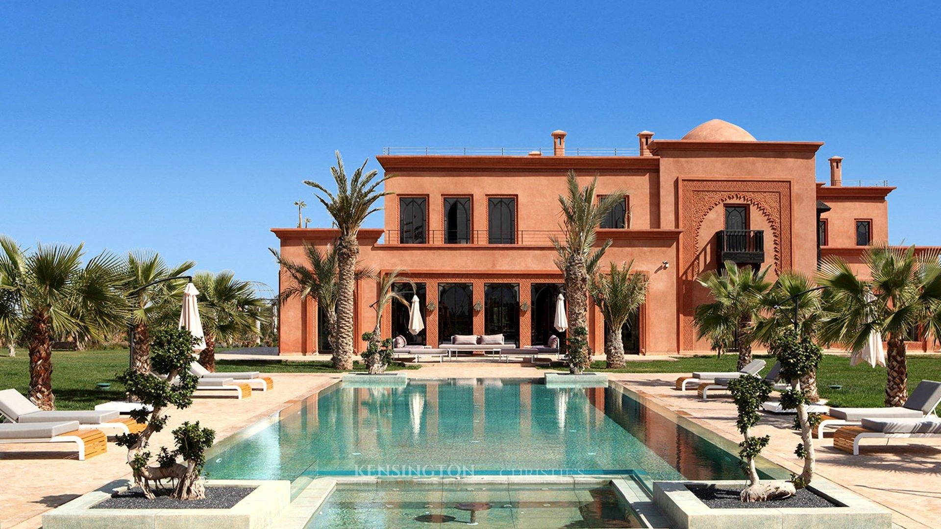 Mahal villa luxury villa marrakech kensington morocco for Villa des jardins marrakech