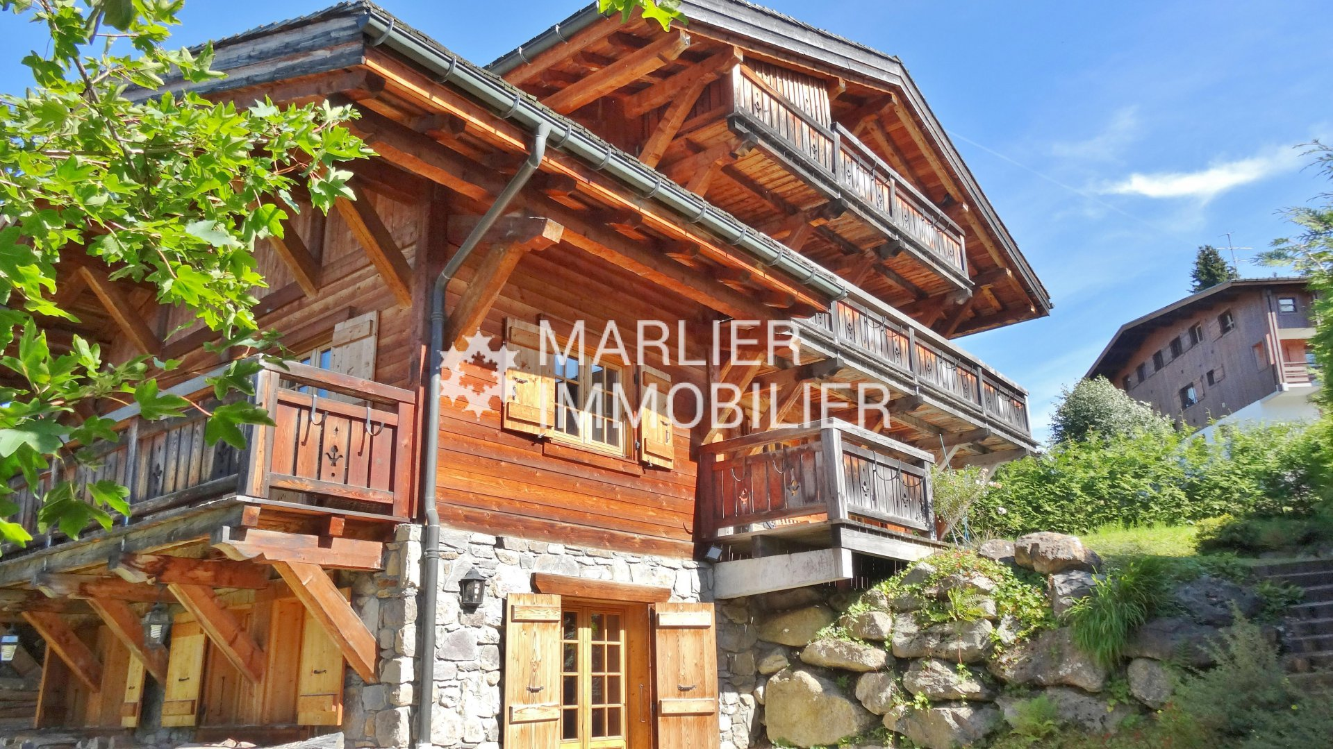 Seasonal rental Chalet - Megève
