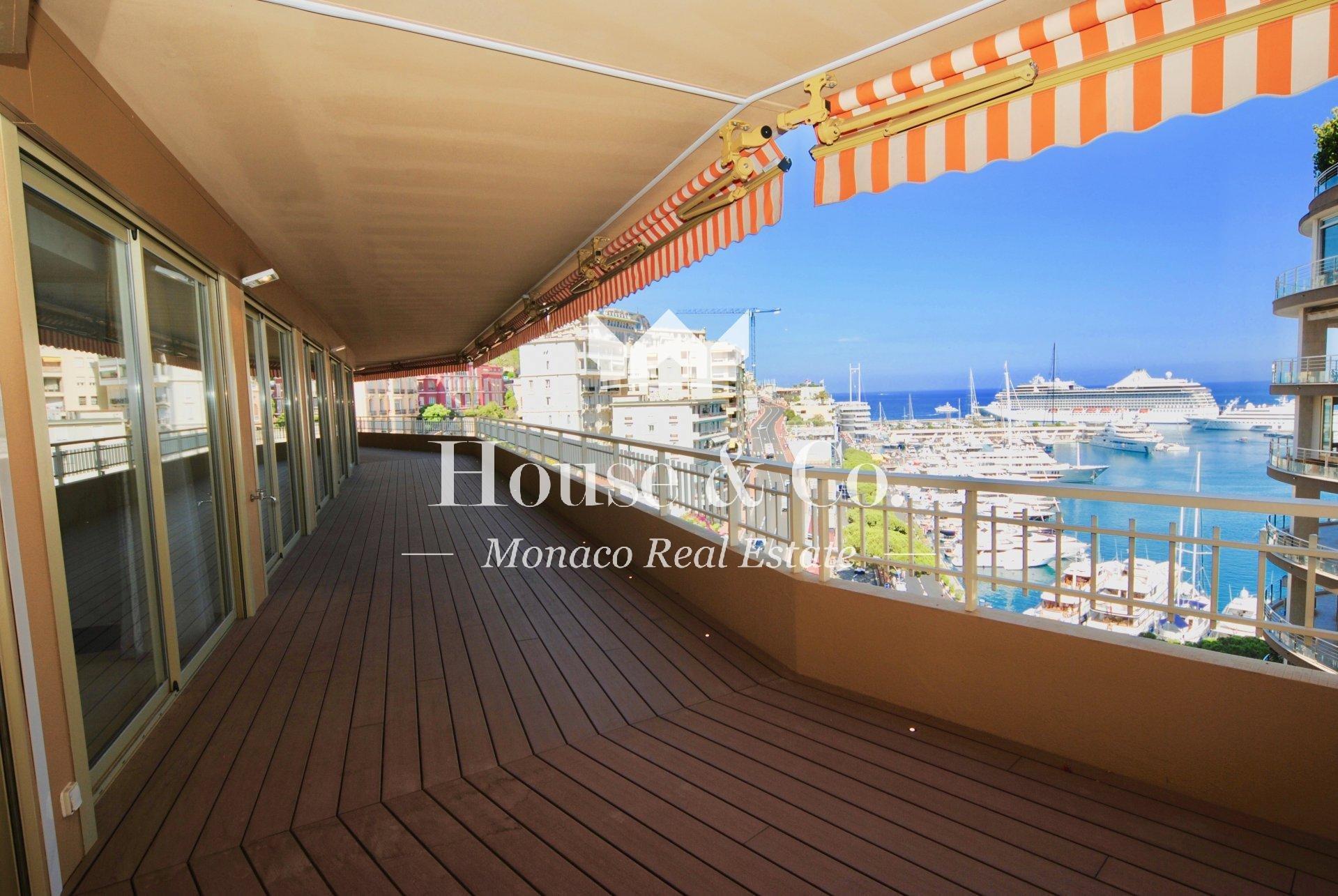 Appartement exclusif et prestigieux sur le port de Monaco