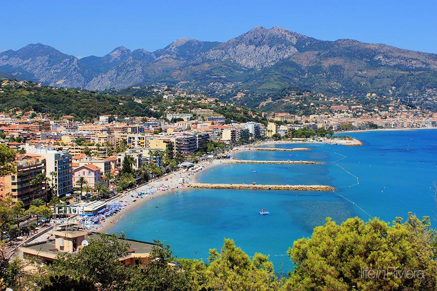 ROQUEBRUNE CAP MARTIN - French Riviera - 3 bed Apartment with sea view