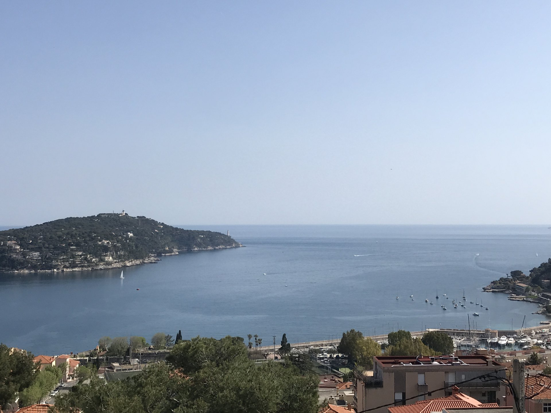 OVERLOOKING RADE VILLEFRANCHE: PENTHOUSE