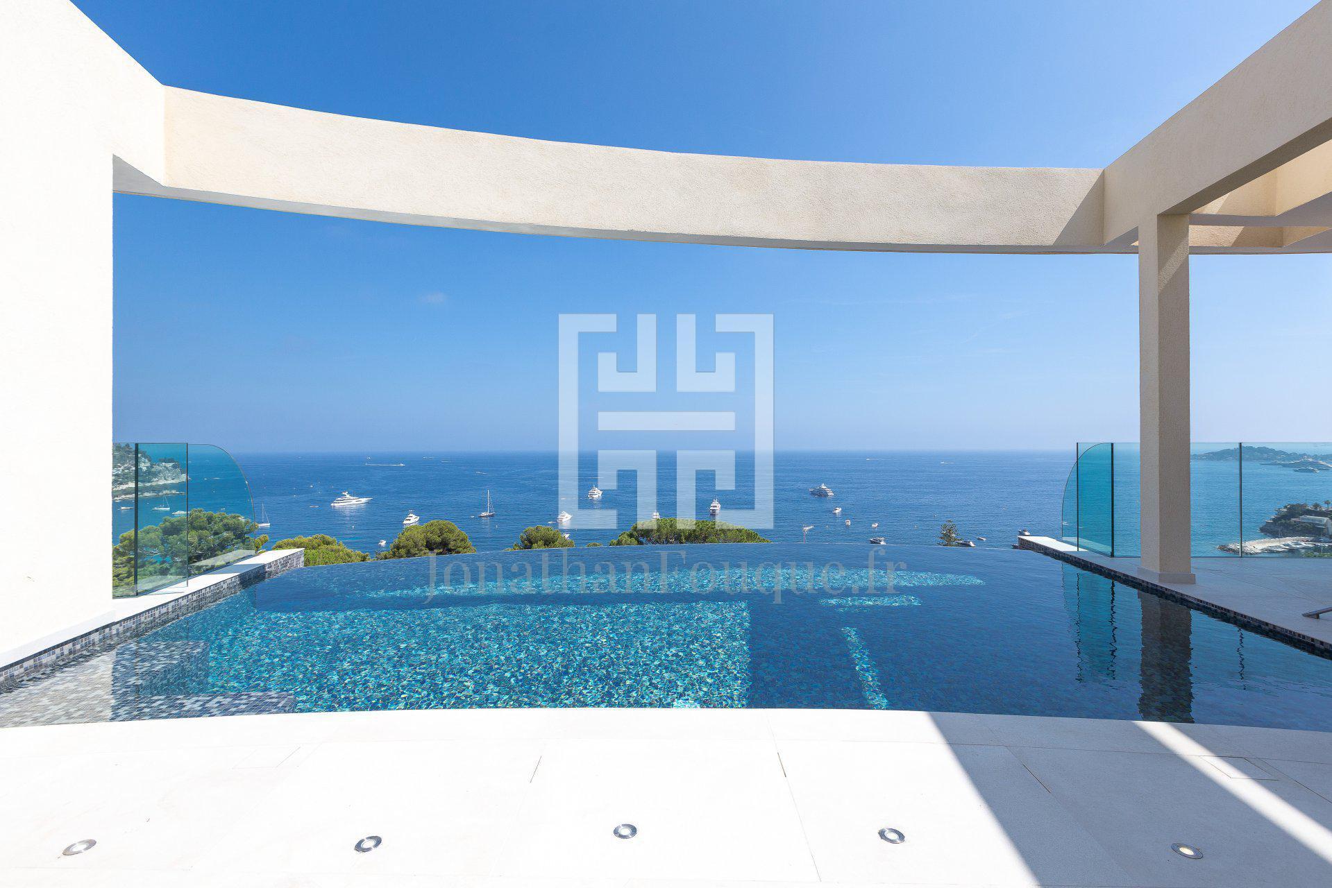 Monaco - Luxury property of architect on the sea
