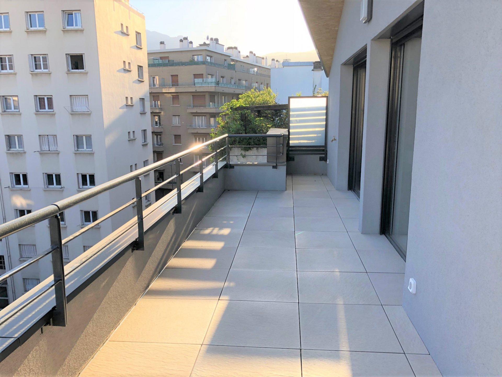 Terrasse au sud