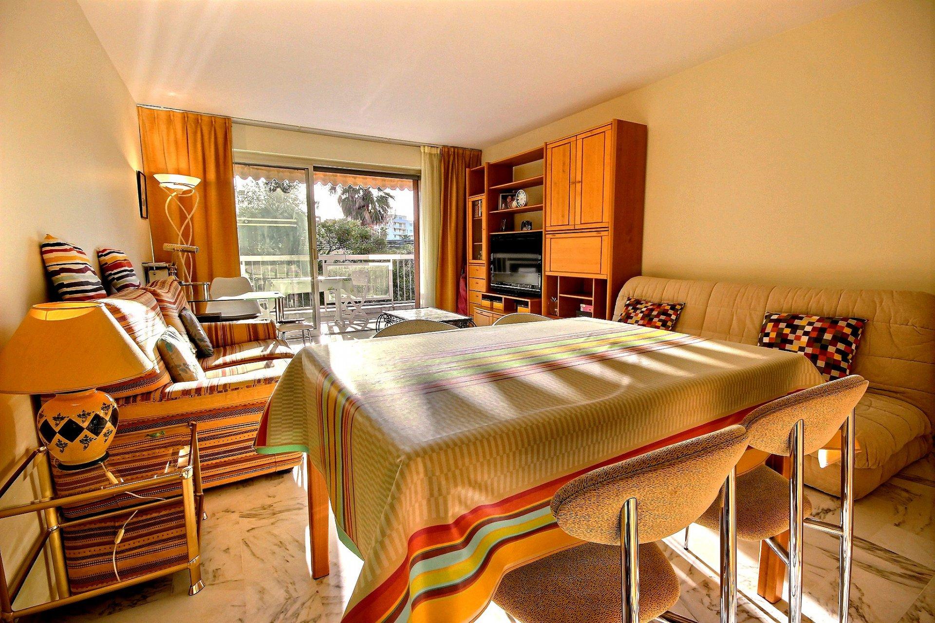 séjour Cannes Basse Californie Appartement 2 Pièces à vendre