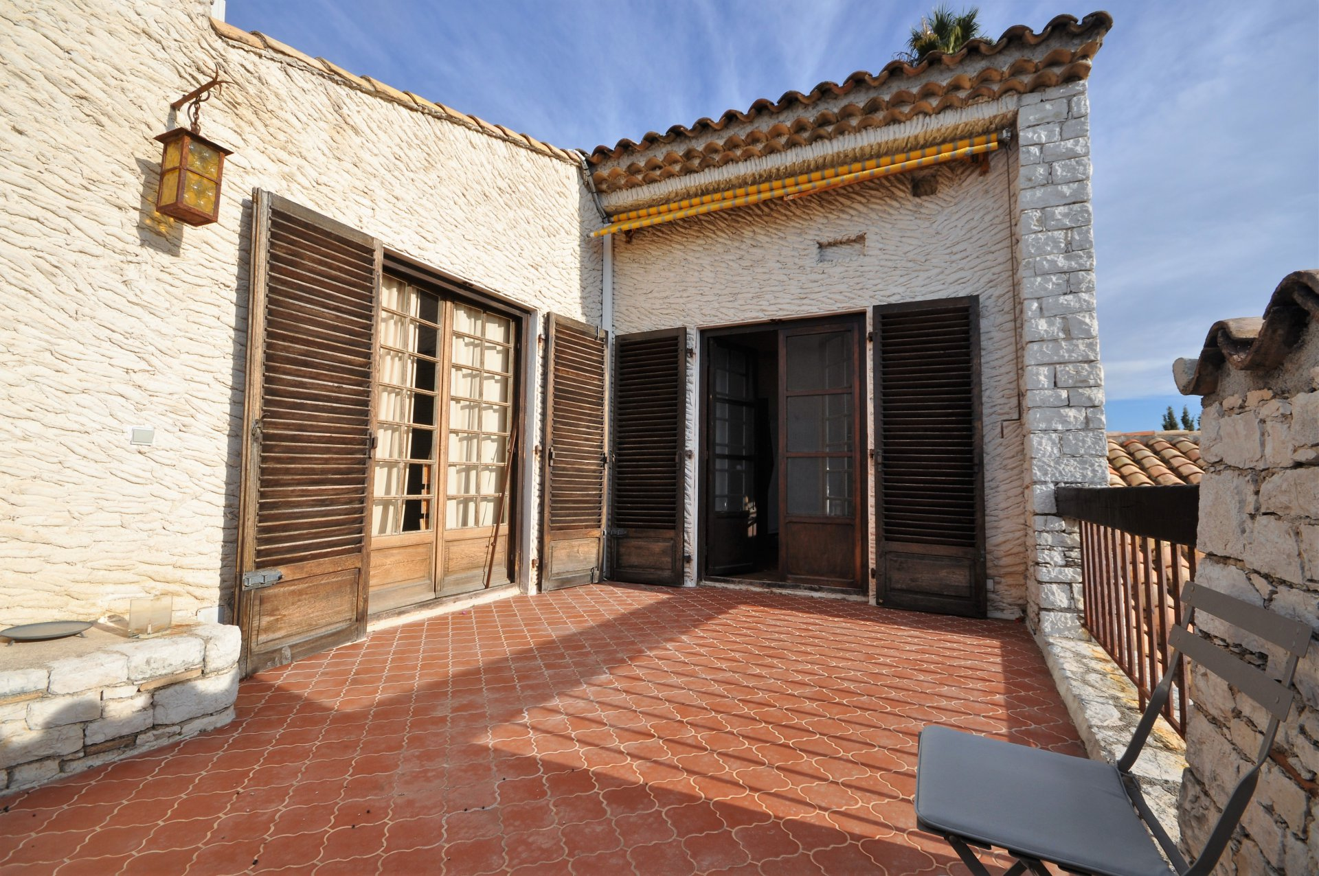Cagnes-sur-Mer, house for sale with swimming-pool and sea view