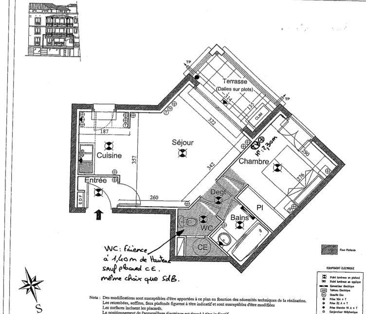 Luxueux appartement T2 avec GARAGE en plein centre de Ste Maxime, à 150m de la mer !