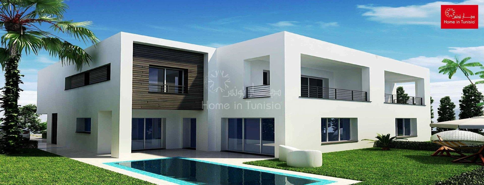 Villa isolated new golf of 328.05 m2 with 4 rooms terrace garden swimming pool garage