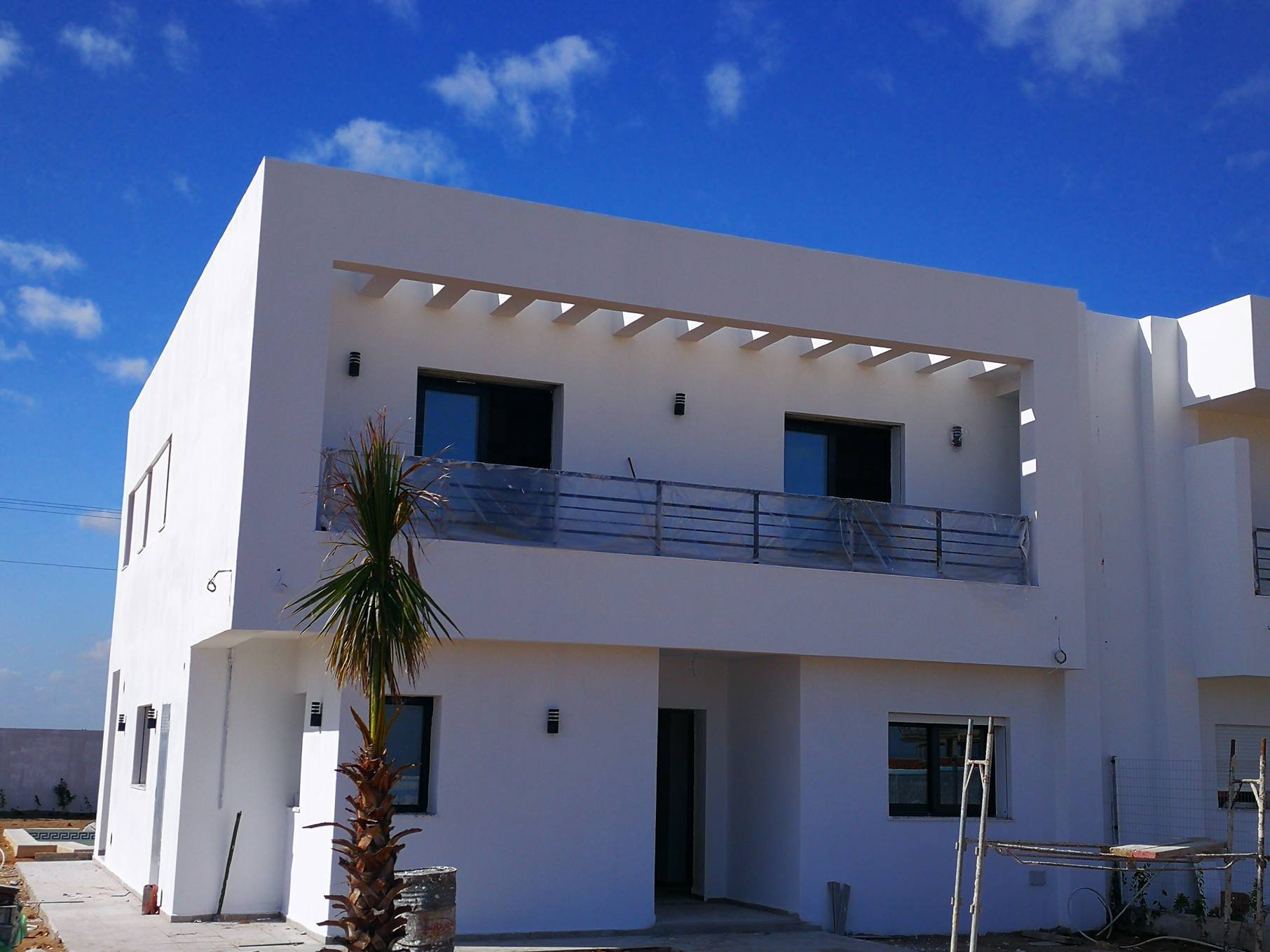 Invest in villa golf Aphrodite isolated at Tunis Bay business residence tourism and services