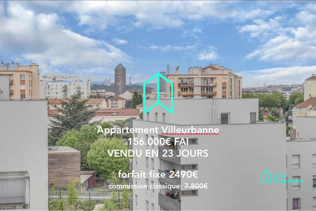 Appartement T2 51m2 Villeurbanne