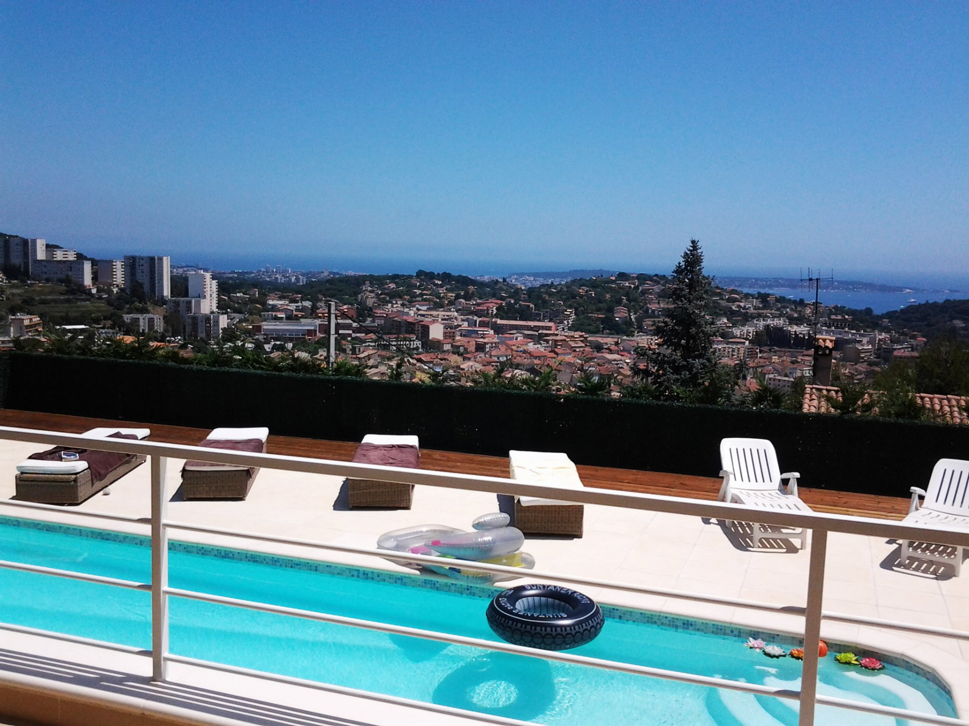 Villa exceptionnelle de plain pied vue mer panoramique