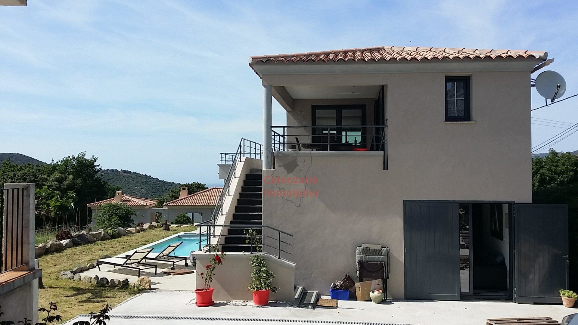 CALENZANA | VILLA AVEC PISCINE - T4 | 180 m2