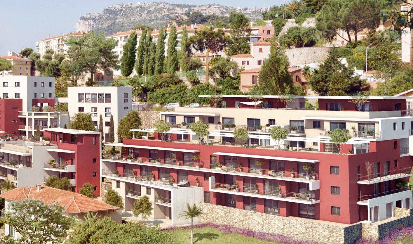 BEAUSOLEIL - Région PACA - Vente Appartement neuf avec vue mer