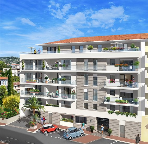 CANNES - French Riviera - One bed Apartment near beaches and Croisette