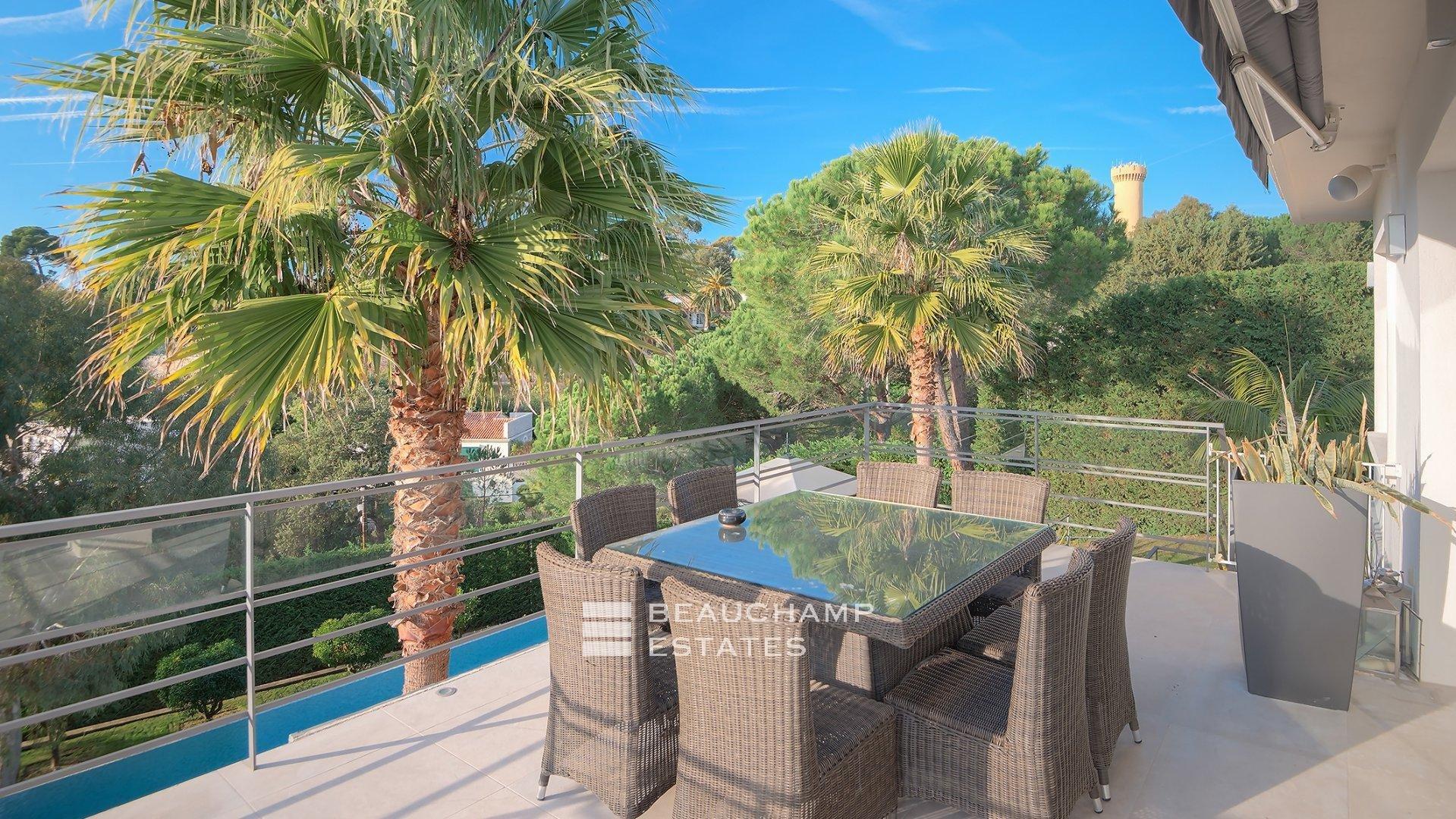 Belle villa contemporaine, Super Cannes