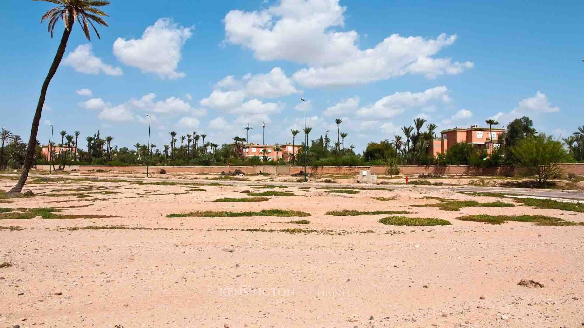 KPPM00990: Building Land Acamar Building land Marrakech Morocco
