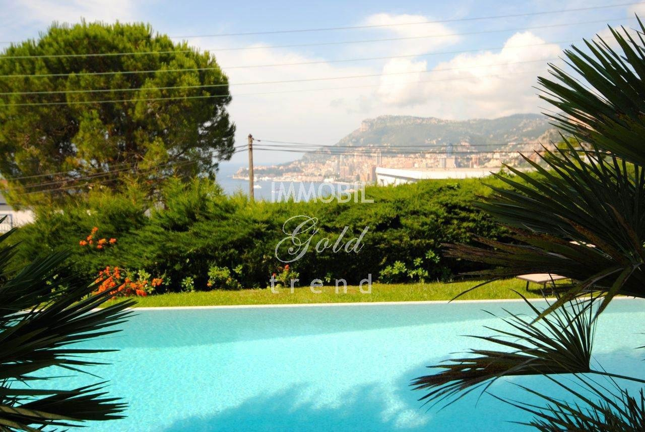 Rental panoramic Villa overlooking Monaco