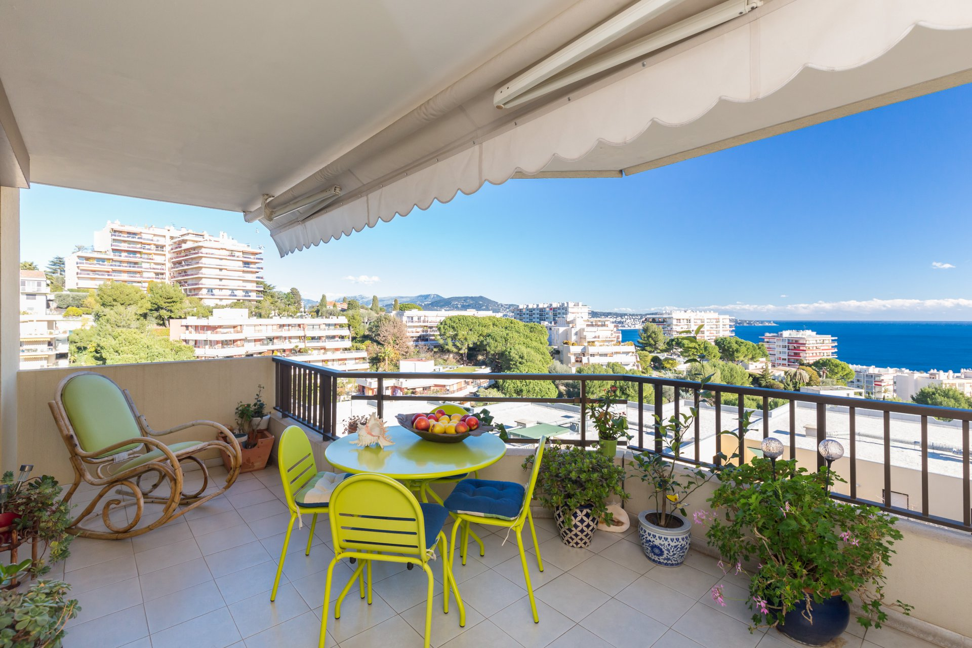 NICE OUEST / FABRON  - 3 Bedrooms - Terrace Panoramic View - 495 000 Euros