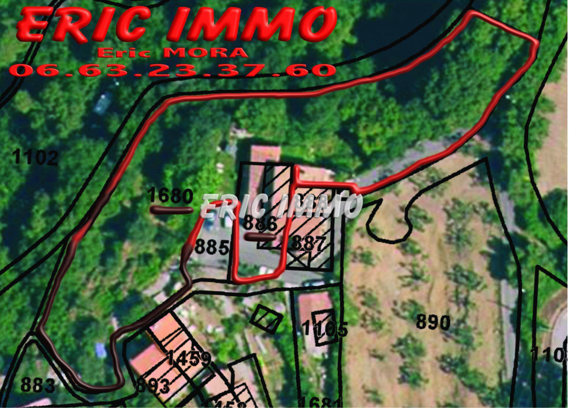 CASTAGNIERS. MAISON 3 PIECES + TERRAIN 2300m2