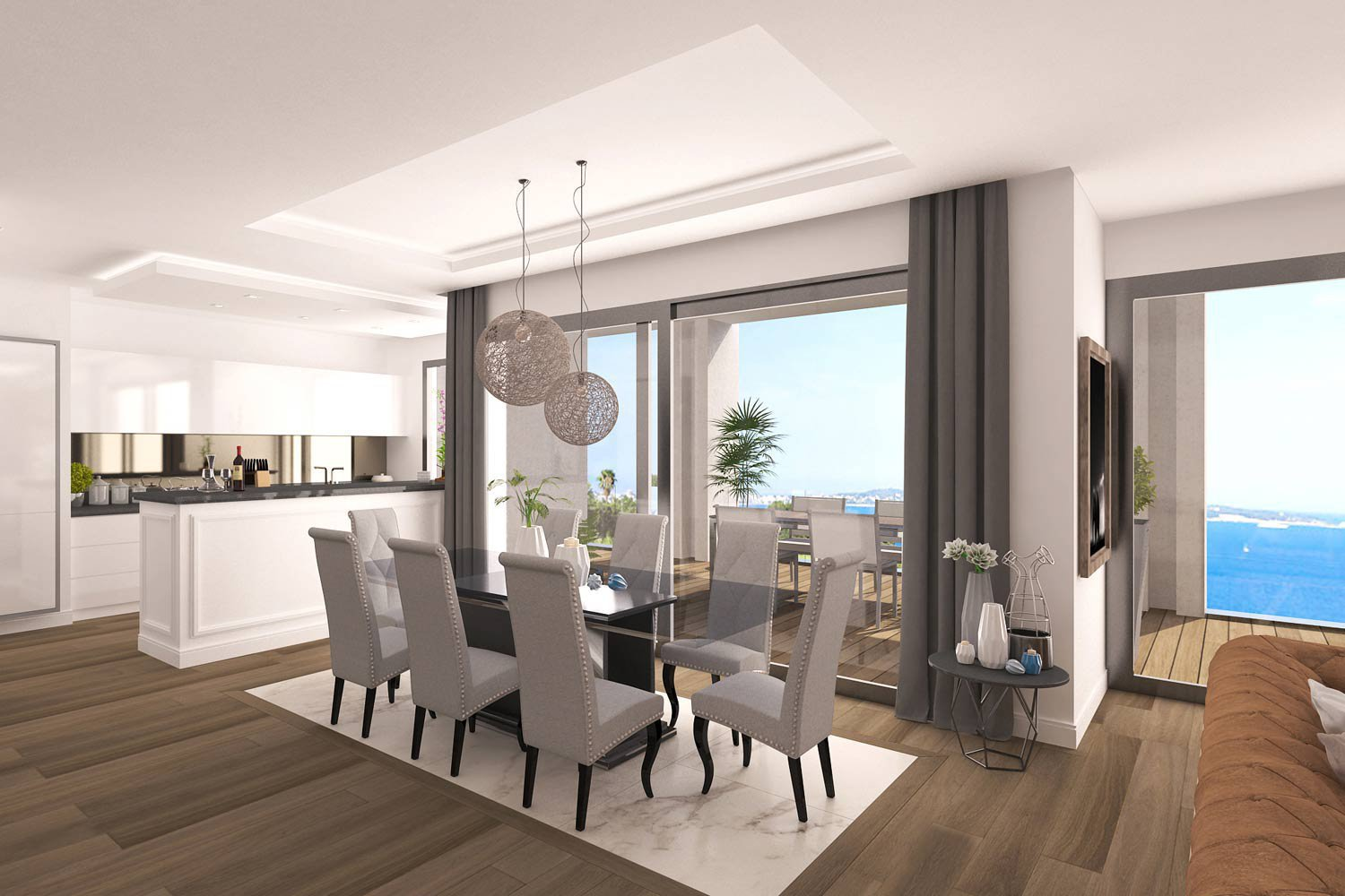 Luxurious development in Cannes with sea views