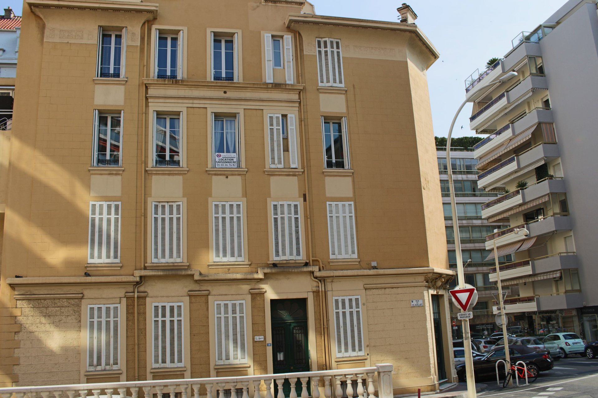 Appartement 6 personnes Cannes Centre ville