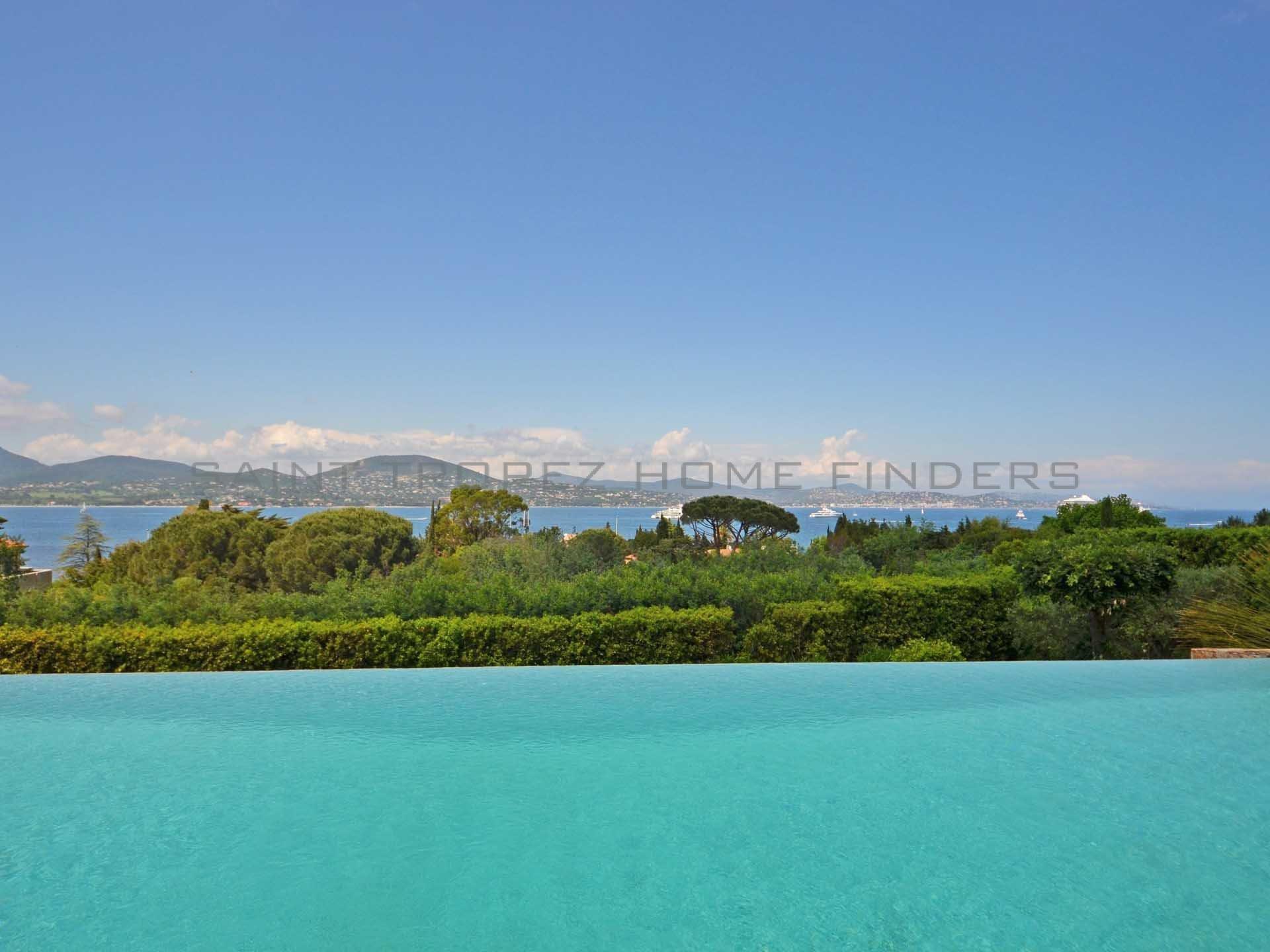 Provencal villa with sea view