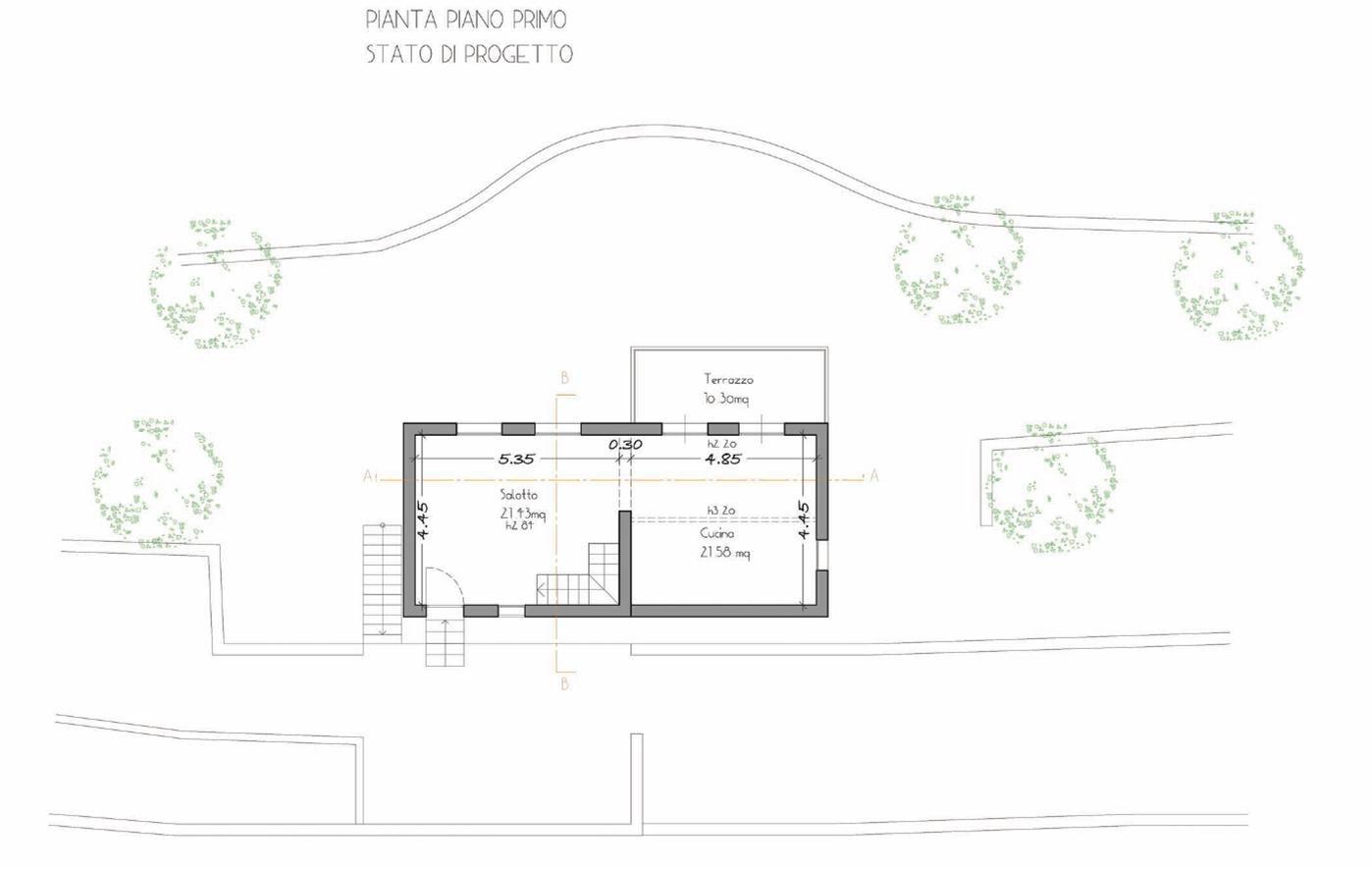 Casa 60 Mq Pianta vendita casa - dolceacqua - italia - 220 000 €
