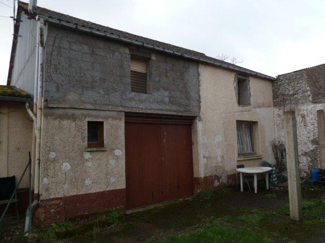Grange amenageable  120m² + chalet  sur 670 m².