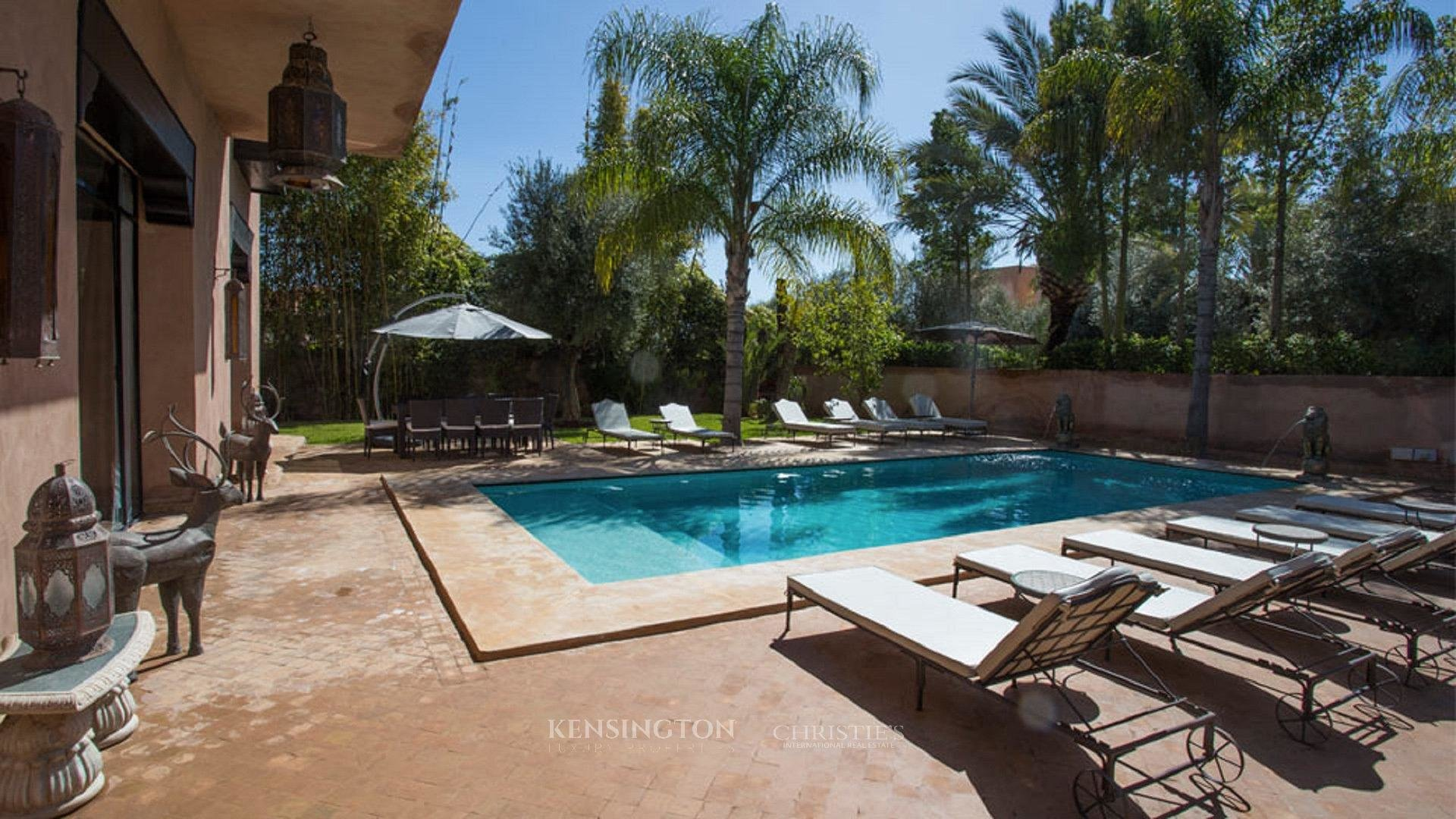 KPPM00757: Villa Cissé Luxury Villa Marrakech Morocco