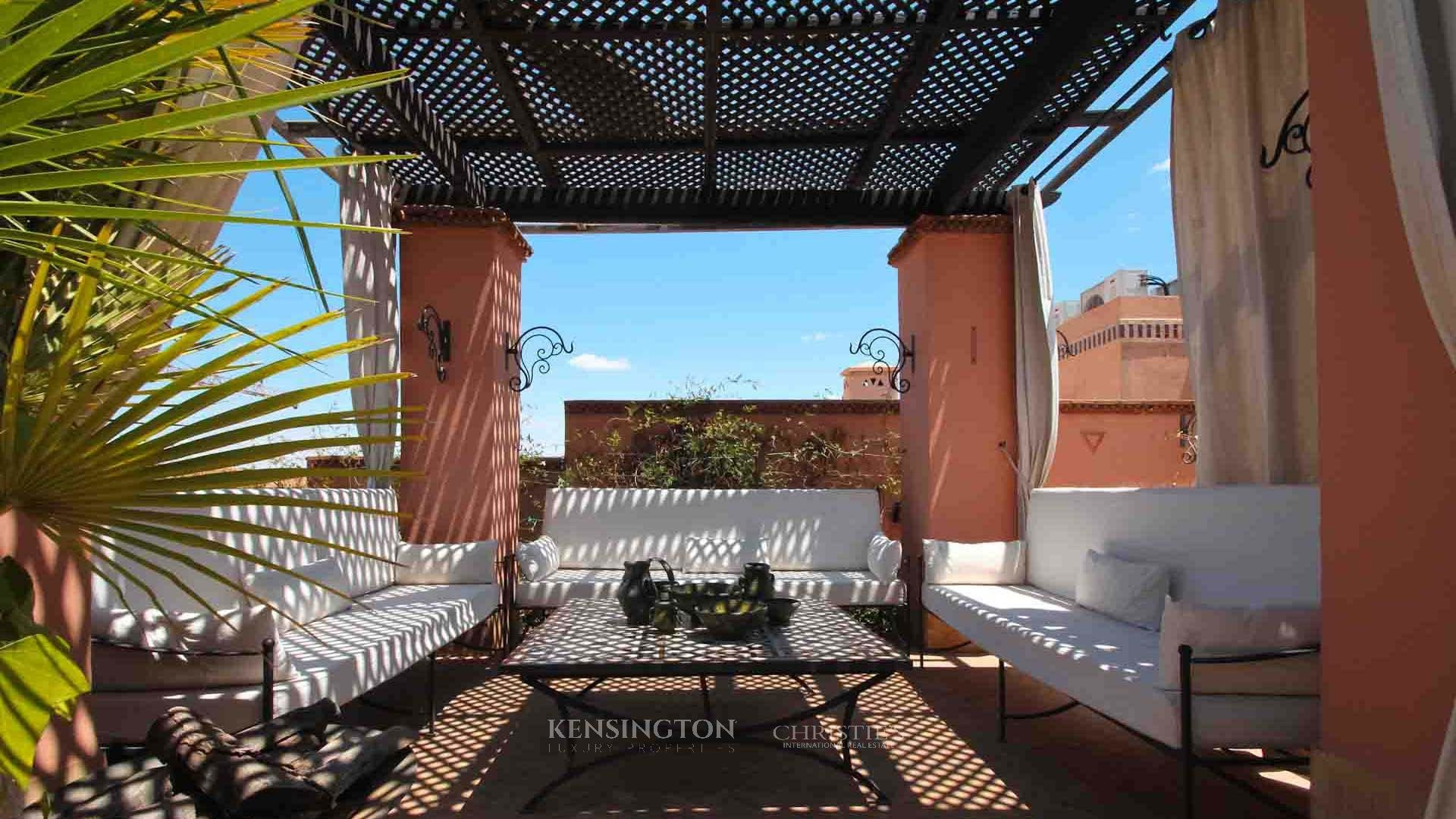 KPPM00782: Gueliz Penthouse Apartment Marrakech Morocco