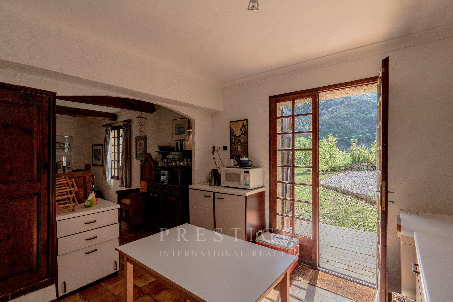 Entrevaux, villa 4 bedrooms with pool, amazing view