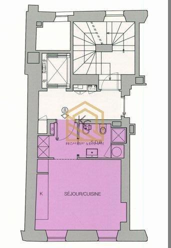 A vendre beau studio neuf Menton centre ville