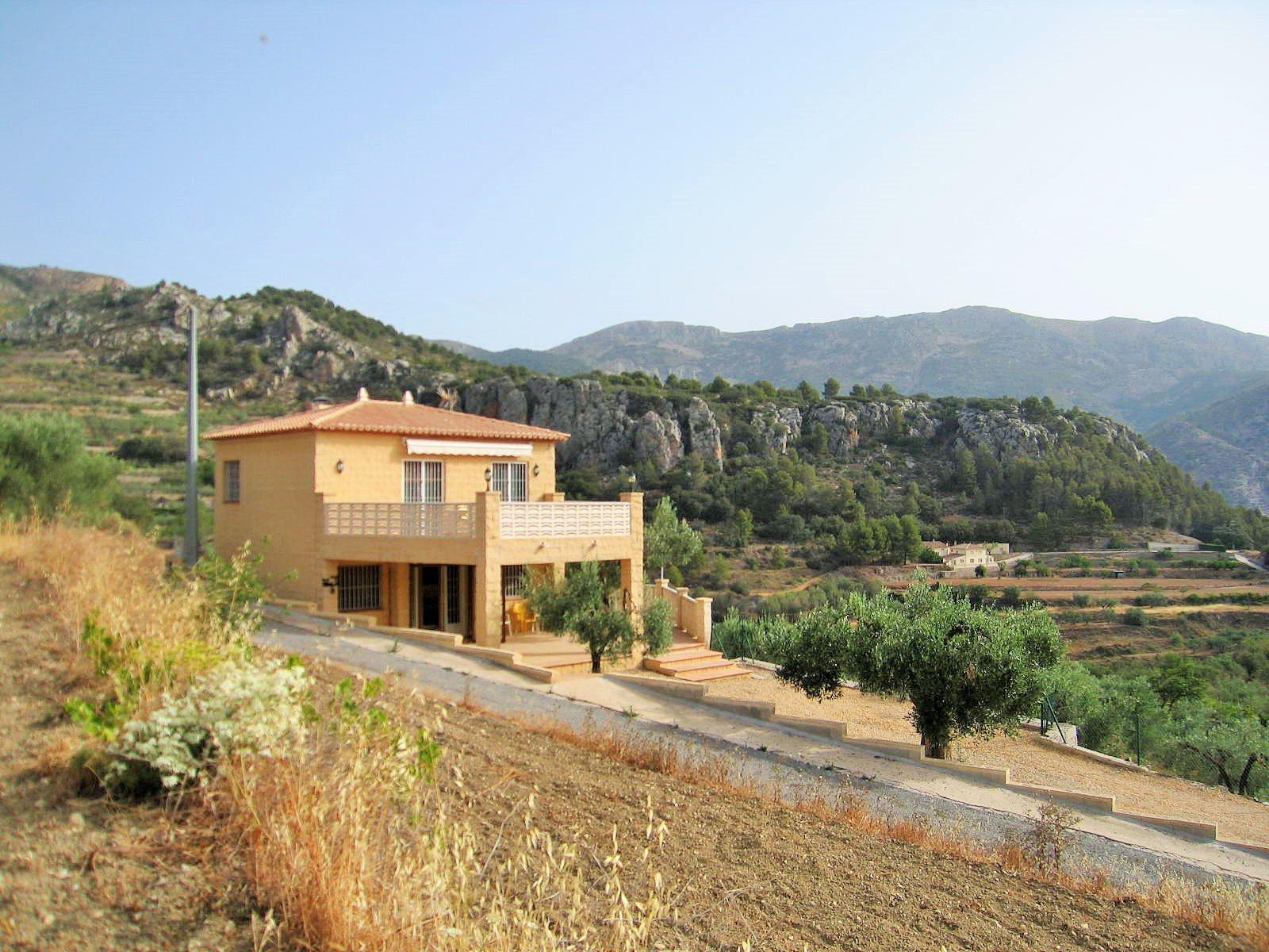 Villa dans les montagnes