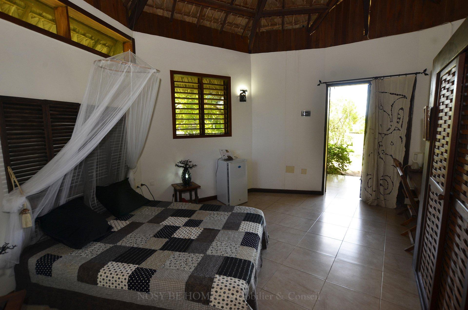 Chambre du bungalow