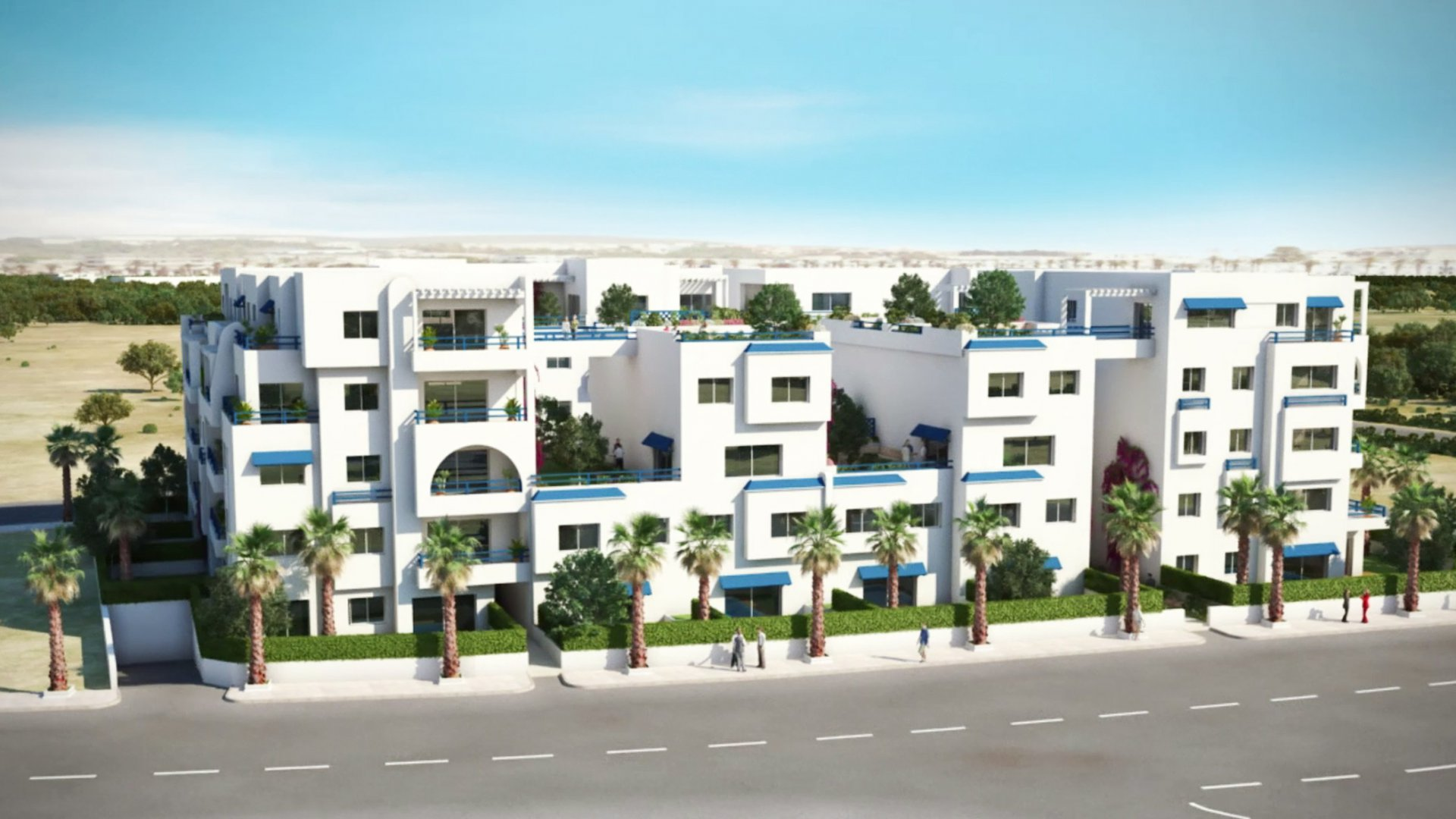 Vente Appartement - Hergla - Tunisie