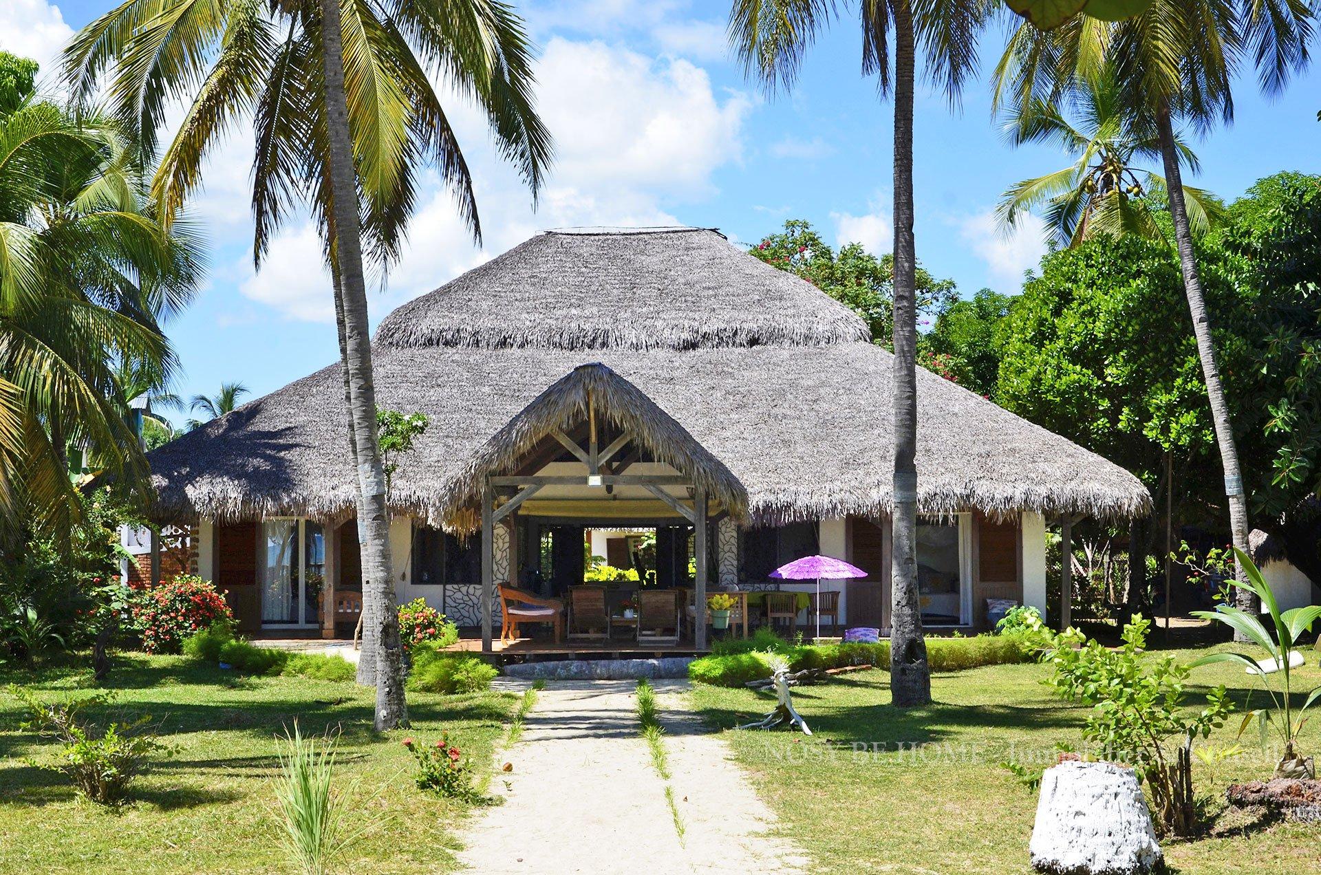 Magnifique villa sur plage
