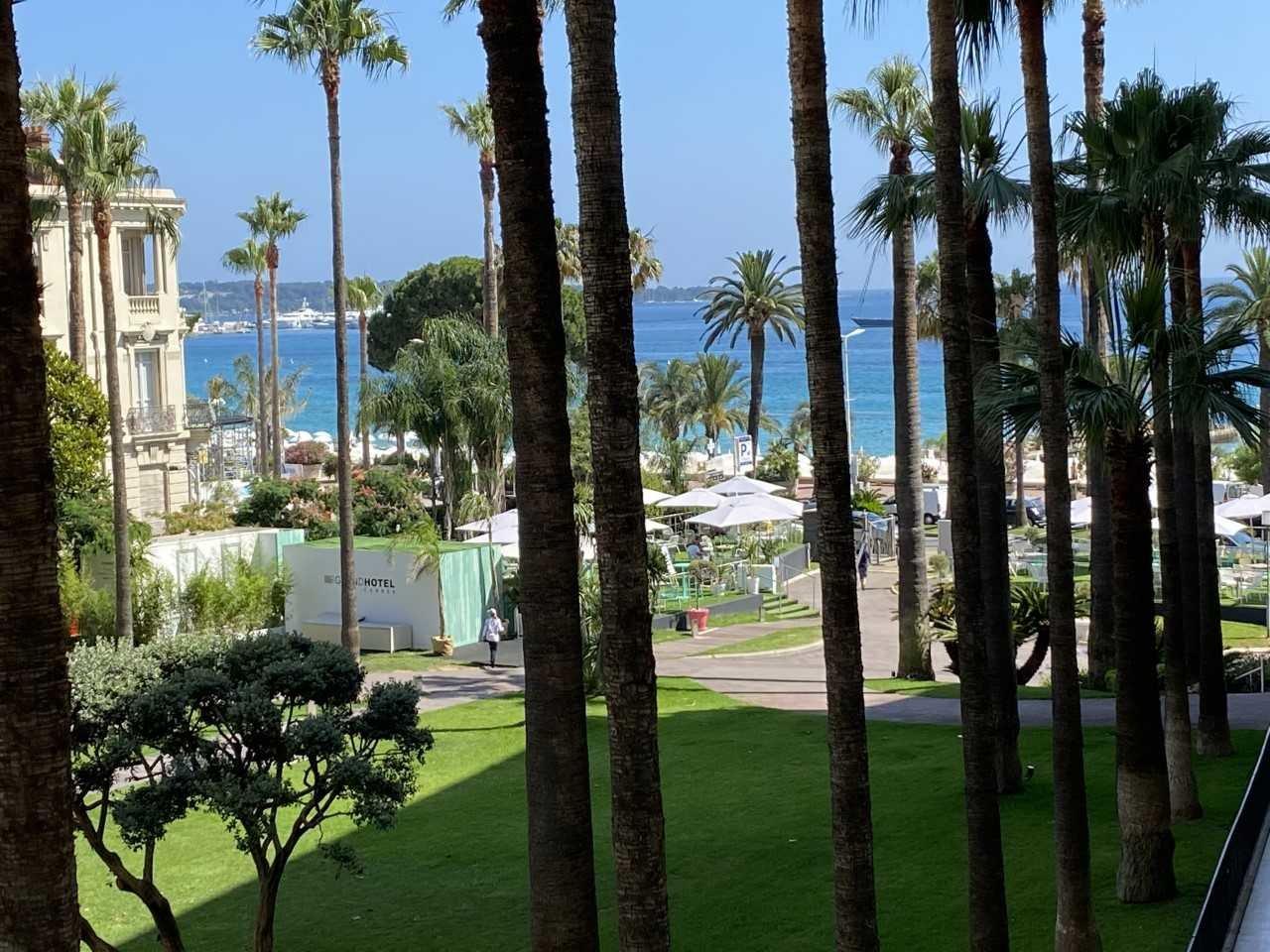 Cannes Croisette 4 pieces, terrasse vue mer