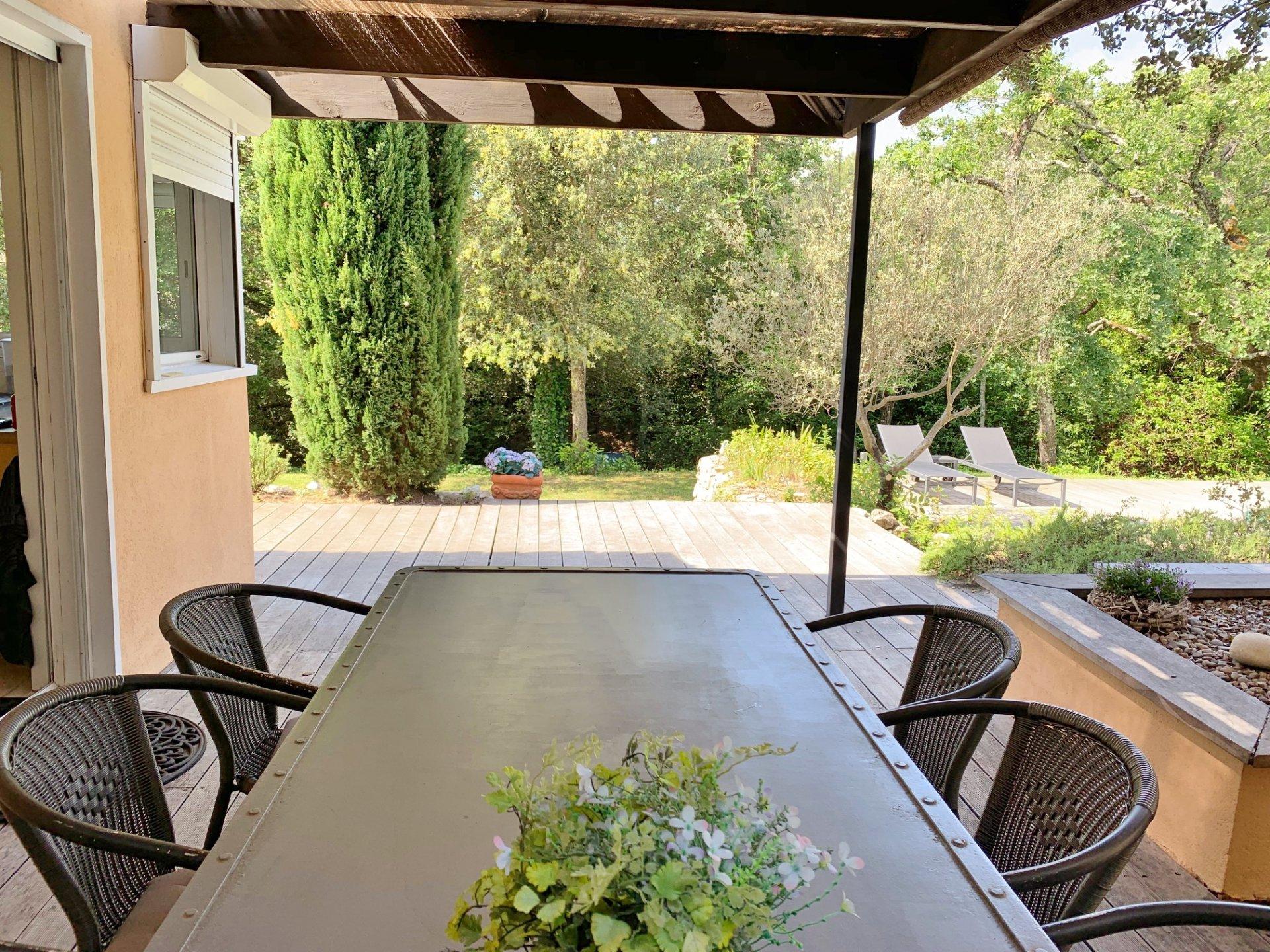 Moderne villa met een Provencaalse touch!