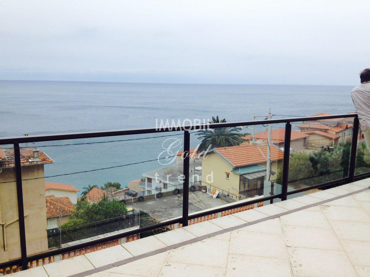 Location Appartement vue mer Porte de Monaco