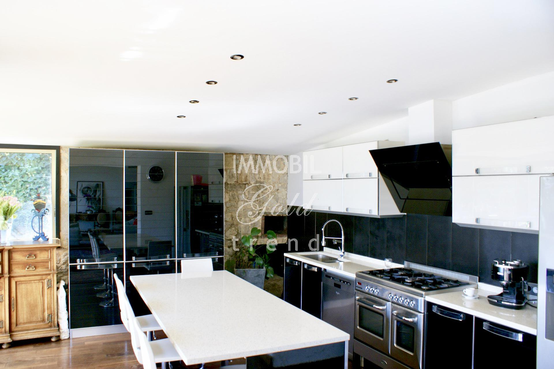 Real Estate Monaco Border For Sale Huge House With A