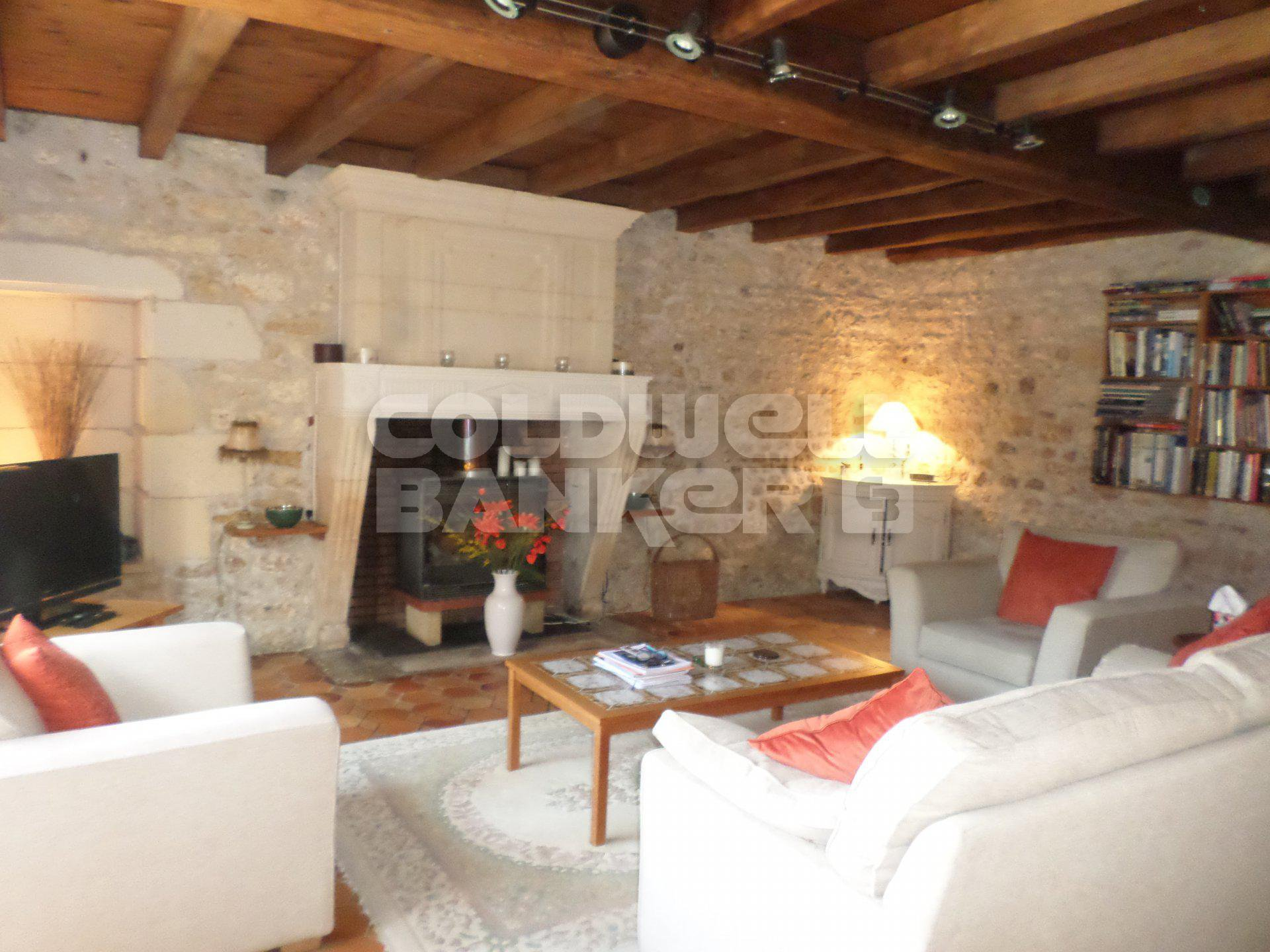 Traditional stone  house for sale - St Savinien