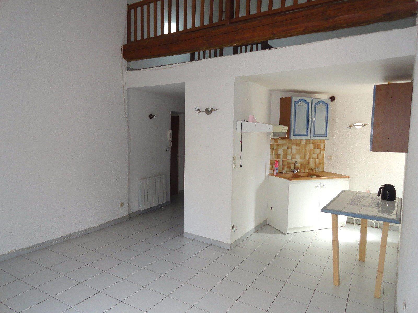 Appartement T2 avec mezzanine