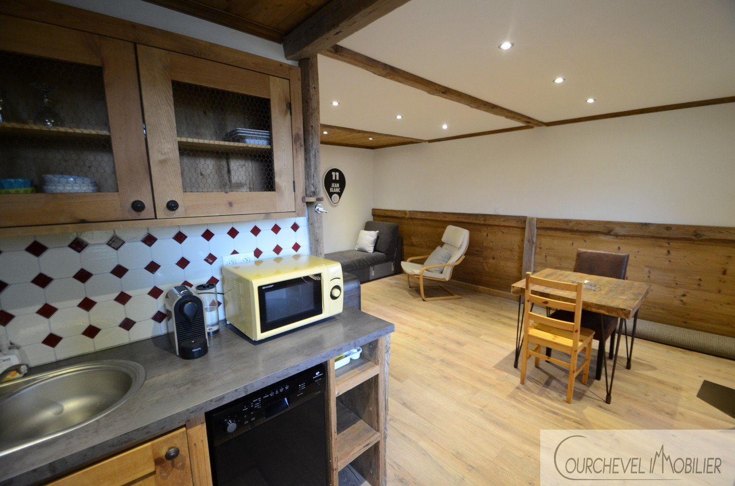 Refurbished studio apartment - Courchevel Moriond