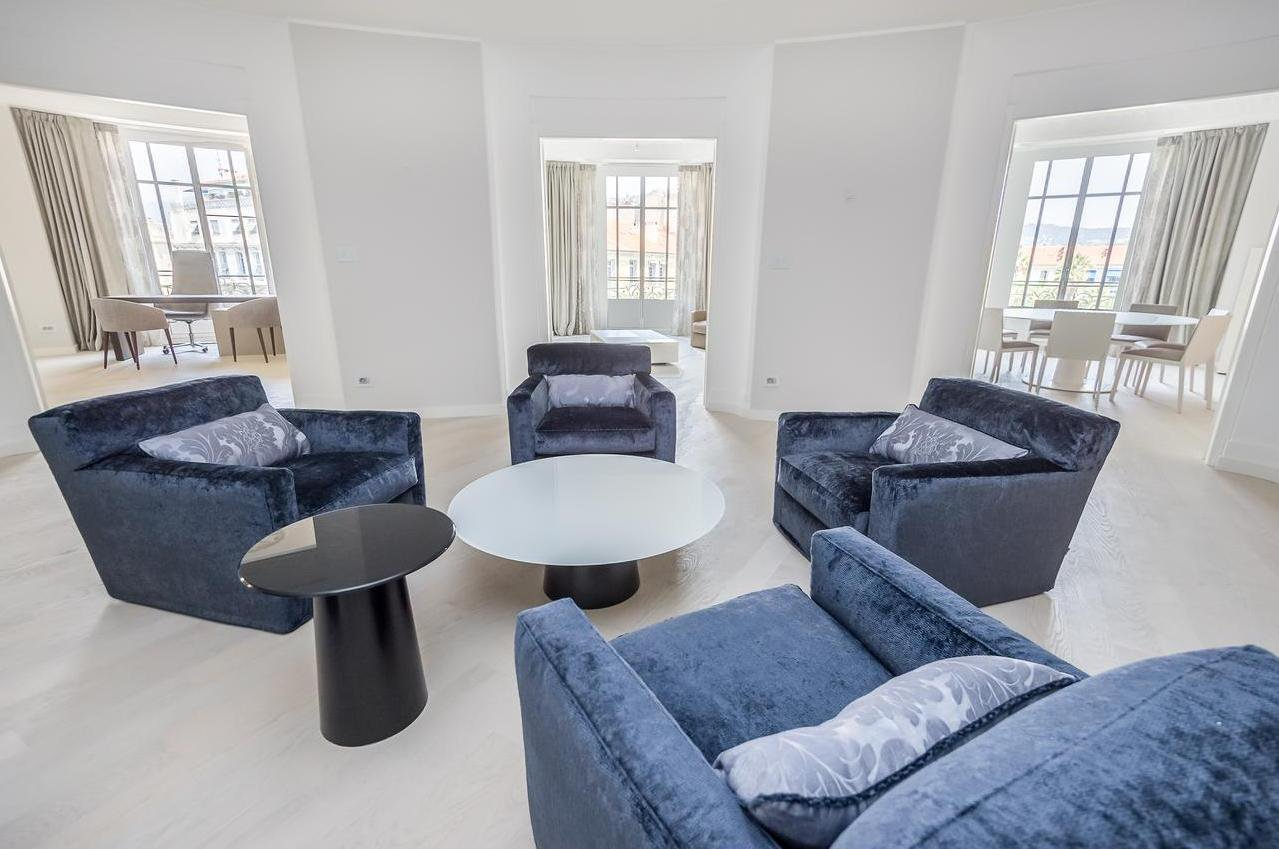 FÖRSÄLJNING Lägenhet Nice Parc Alsace Lorraine 6 rum Lyx Renovering