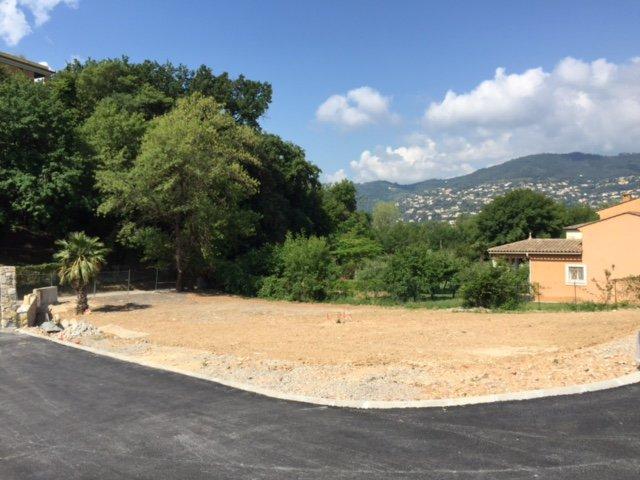 cannes la bocca terrain  300m² pour villa 85m²