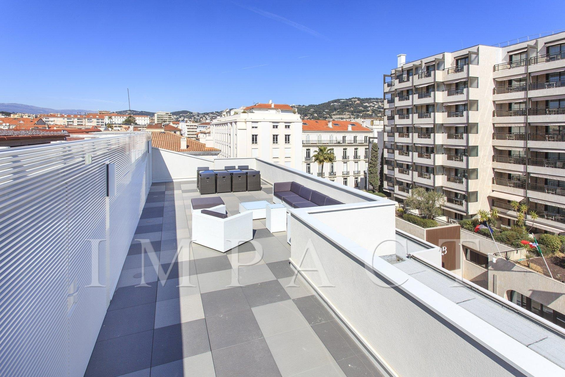 Beautiful Duplex style Penthouse to rent, close from Croisette, Cannes