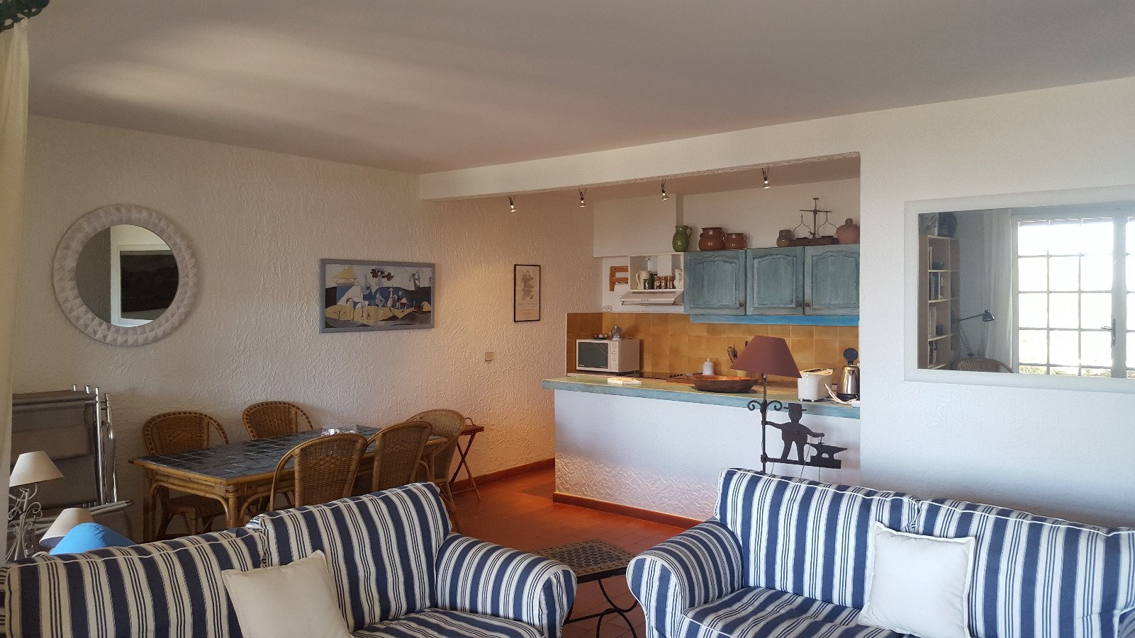GIGARO / ROMARINS - Mas 3 bedrooms - sea view