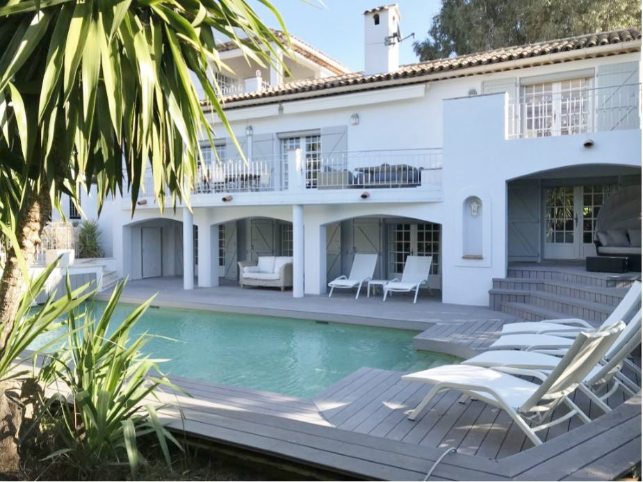 SEASONAL RENTAL-VILLA ON THE WEST SIDE OF CAP D'ANTIBES